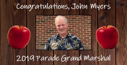 John Myers - 2019 Parade Grand Marshal